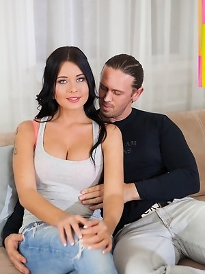 Chesty Czech Mia Manarote Fucks for Cash