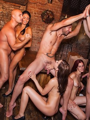 Babes work together and then fuck together